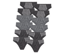 Slips (12 Stck.) grau