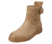 Damenlederstiefel 'Ankle Boot' hellbraun