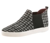 Chelsea-Boots schwarz / weiß