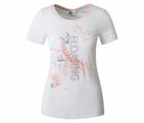 T-Shirt 'Bacapo' weiß