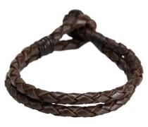 Leder-Armband dunkelbraun