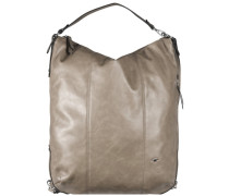 Lily Schultertasche 34 cm taupe