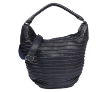 Hobo-Bag 'Riffeltier' dunkelblau