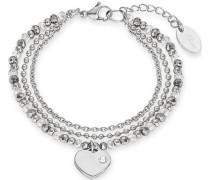 Armband »Herz 2012530« silber