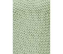 Strickpullover grün
