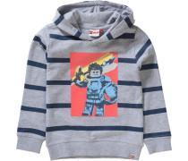 Sweatshirt 'nexo Knights Saxton' grau