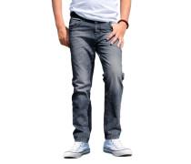 ARIZONA Arizona Jeans Regular-fit mit schmalem Bein, für Jungen blau