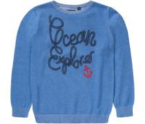 Pullover für Jungen himmelblau