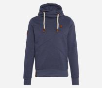 Sweatshirt 'Lennox X' blaumeliert