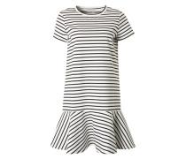 Sommerkleid 'Elia' schwarz / weiß