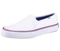 Double Decker Solids Sneaker weiß