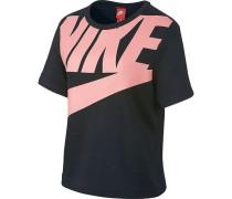 T-Shirt hellpink / schwarz