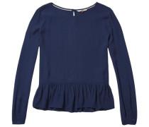 Bluse ´thdw Basic Blouse L/S 12´ dunkelblau