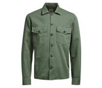 Shirt-Jacke grün