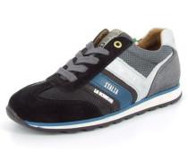 Sneaker Lucca Lace Jr Leder schwarz