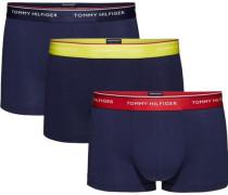 Unterhose »Low rise trunk 3 pack premium ess« dunkelblau