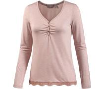 Langarmshirt Damen rosa
