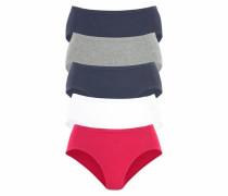 Jazzpants marine / grau / rot / weiß