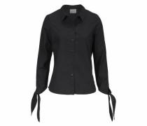 Klassische Bluse 'crome' schwarz