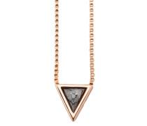 Halskette mit Kettenanhänger »Industrial Revolution C1628N/90/y9/45« rosegold / anthrazit