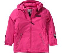 Skijacke für Mädchen pink
