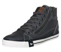 Sneaker High mit Reißverschluss grau