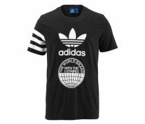 T-Shirt 'street Graph T' schwarz