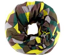 Multifunktionstuch braun / gelb / grün