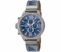Chronograph 'Mendi Dsc-07' blau / silber
