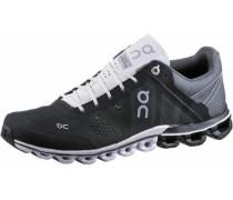 'Cloudflow' Laufschuhe Damen grau / schwarz / weiß