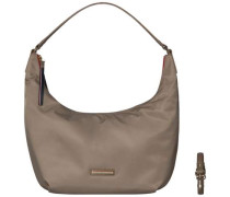 TOMMY HILFIGER Tommy Hilfiger Hobo »POPPY SMALL HOBO / CROSSOVER« beige