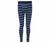 Lange Schlafhose mit schmalem Bein marine / blue denim
