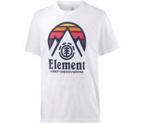 'tri TIP Front' T-Shirt Herren weiß