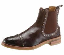 Chelsea Boots hellbraun / dunkelbraun
