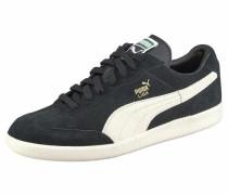 Sneaker 'Liga Suede Perf' schwarz / weiß