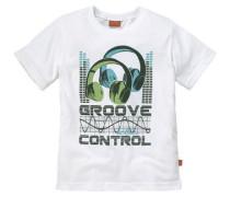 T-Shirt für Jungen hellgrün / weiß