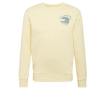 Sweatshirt pastellgelb