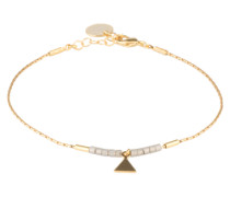 Armband 'Sailor' gold / grau