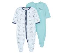 Schlafanzug nit 2er-Pack blau