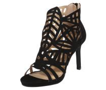 High-Heels mit Cut-Outs schwarz