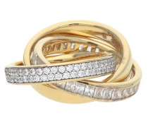 Fingerring Tridelia Elrg92258C aus 925er Sterlingsilber
