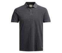 Lässiges Poloshirt schwarz