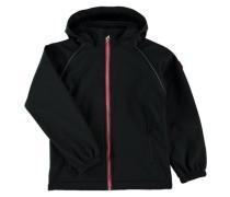 Nitalfa Softshell-Jacke rot / schwarz