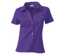 Polo-Shirt lila