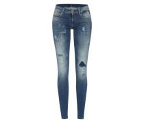 Skinny Jeans 'Rose' blau