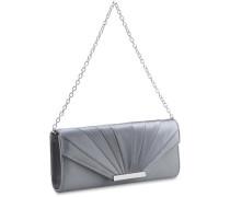 'Scala' Abendtasche 23 cm silber