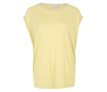 Shirt 'Nawa' gelb / grau
