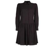Kleid 'annette' rot / schwarz