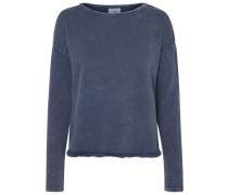 Lässiges Sweatshirt blau