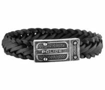 Armband 'centaur Pj26057Ble.02-L' schwarz / silber